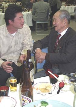 Kato san and Hiroshi Mano
