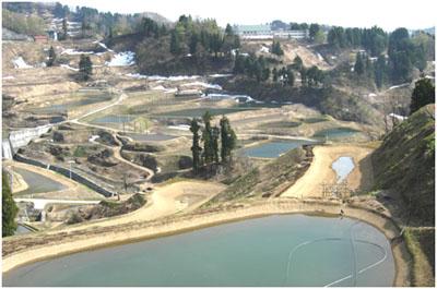Yamakoshi spring mud ponds