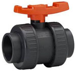 GF 2 double union Ball Valve