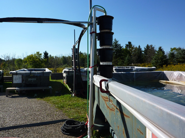 Aeration towers