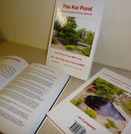 Book The Koi Pond by Peter Waddington