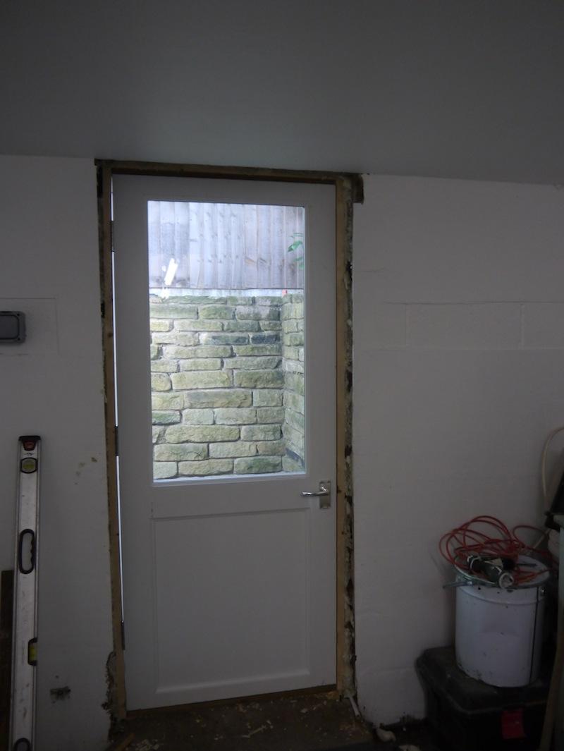 New door for filter house