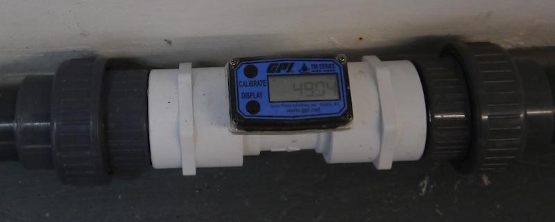 Flow meter to measure flow