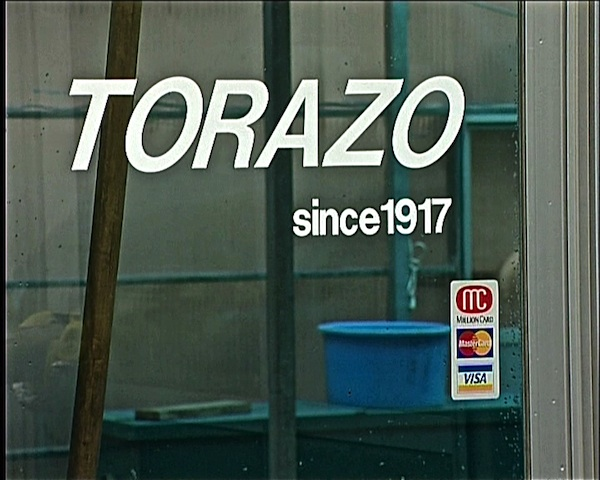 Torazo sign