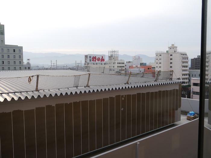 View of Nagaoka from Hotel Bedroom