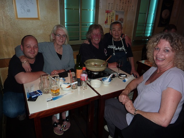 The group at Nomole in Japan