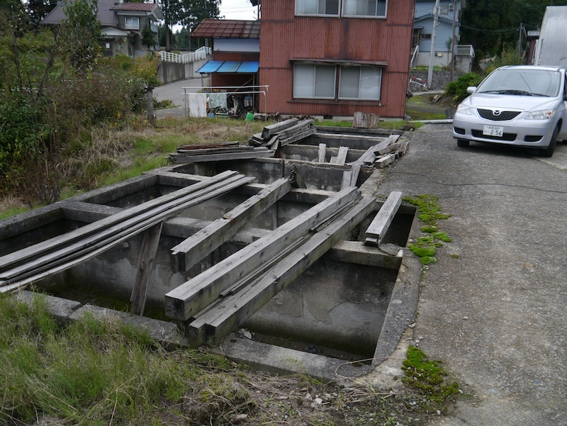 Shiyodane village was very close to the epicentre of the Chuetsu earthquake in 2004