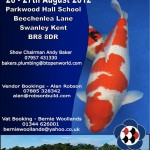2012 South East Koi Show Poster